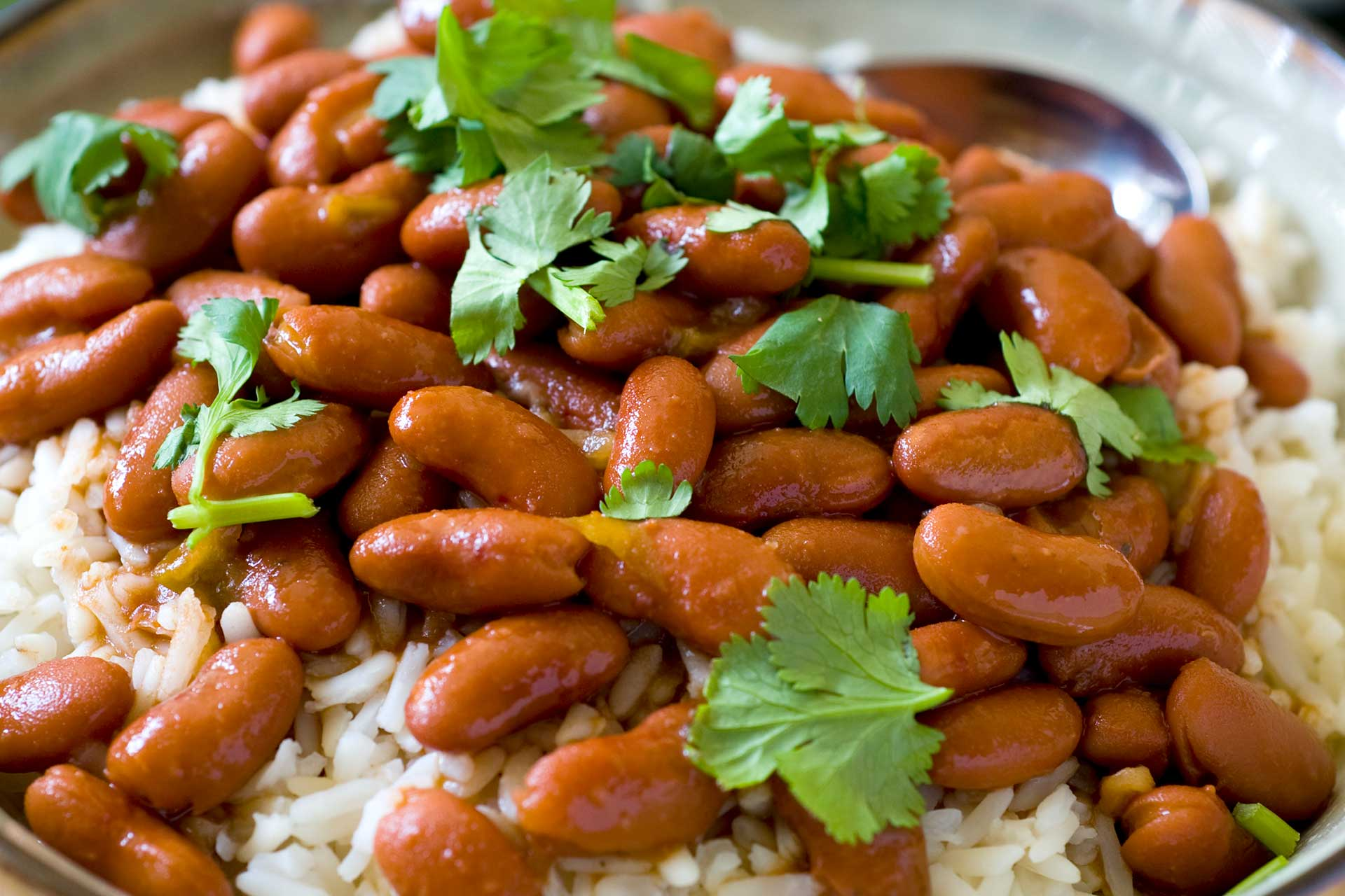 Photo of rice and beans dish